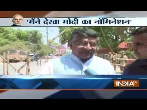 Sr. Politician Ravi Shankar Prasad speaks about biggest rally
