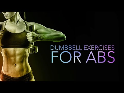 5 Best DUMBBELL ABS Exercises (Build Your SIX PACK)