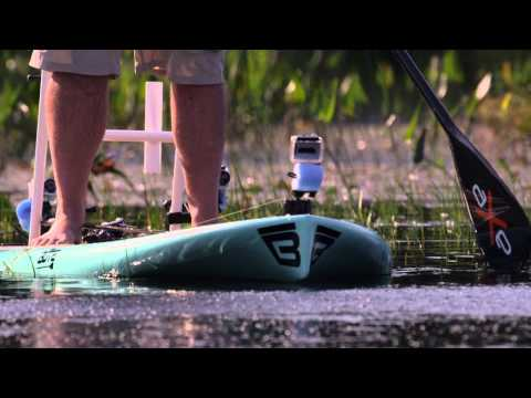 Stealthy Livetarget Hollow Body Frog Fishing on a Stand Up Paddle Board - Facts of Fishing THE SHOW