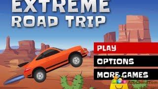 Jugando Viaje Extremo Video Juego De Carros Brincando