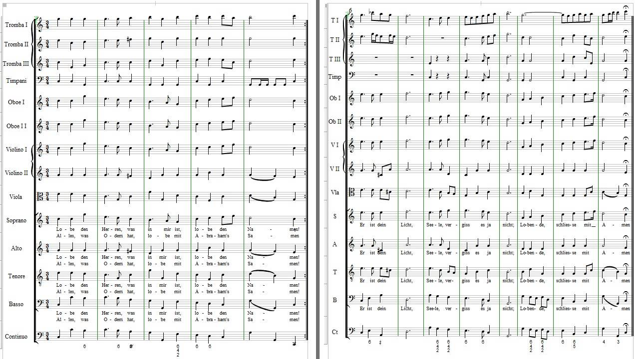 JS Bach: Chorale from Cantata 137 - YouTube