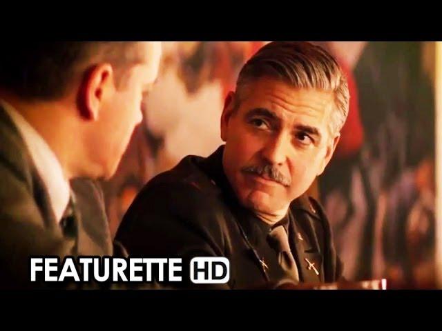 Monuments Men Featurette 'La compagnia di George Clooney' (2014) - George Clooney Movie HD