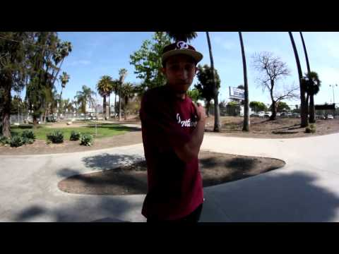 How to nollie 180 kickflip with Carlos Vega