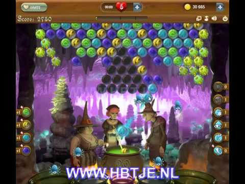 Bubble Witch Saga level 48