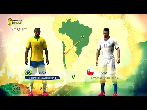 Brazil v Chile: World Cup simulator