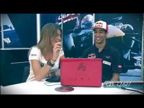 Daniel Ricciardo El Juego Imposible F1