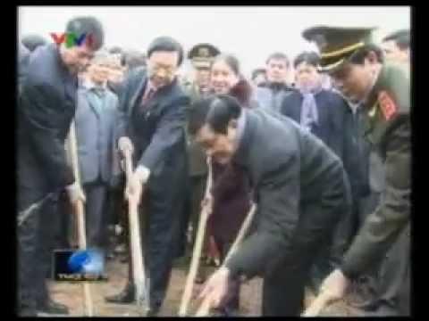 Chủ tịch nước Trương Tấn Sang phát động Tết trồng cây, lễ hội Tịch Điền