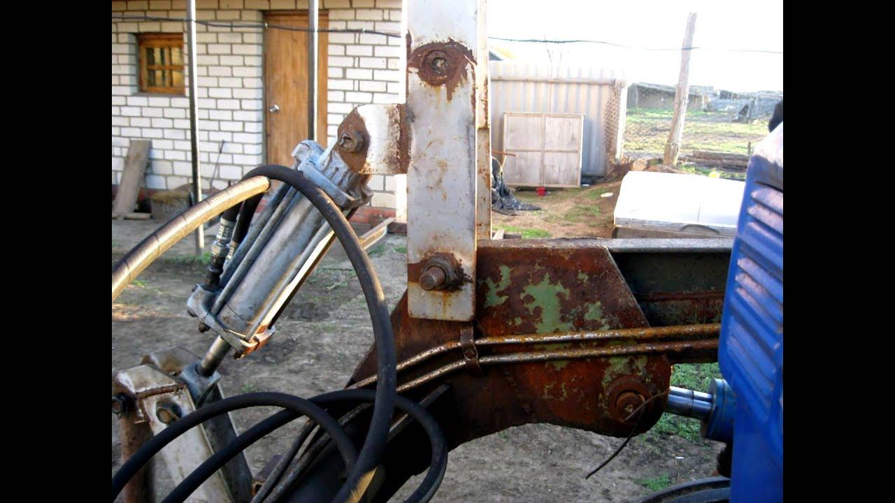 Самодельный трактор т 40 10 фотография