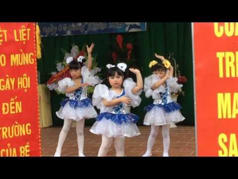 Ca nhạc thiếu nhi. Trường mầm non Hoa Mai-Hà Giang