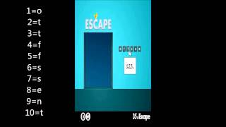 40x Escape Level 35 Walkthrough