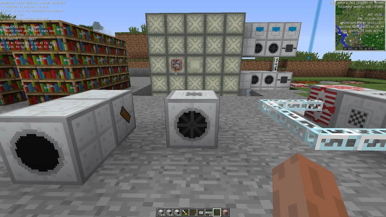 Как в индастриал крафт 2 сделать генератор