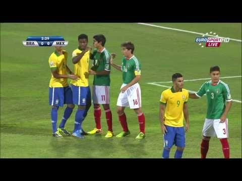 Brazil vs Mexico - FIFA U-17 World Cup 2013 - Quarterfinal #2