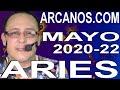 Video Horóscopo Semanal ARIES  del 24 al 30 Mayo 2020 (Semana 2020-22) (Lectura del Tarot)
