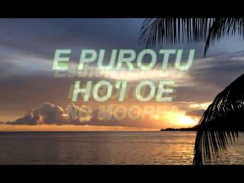 Esther TEFANA purotu no Moorea