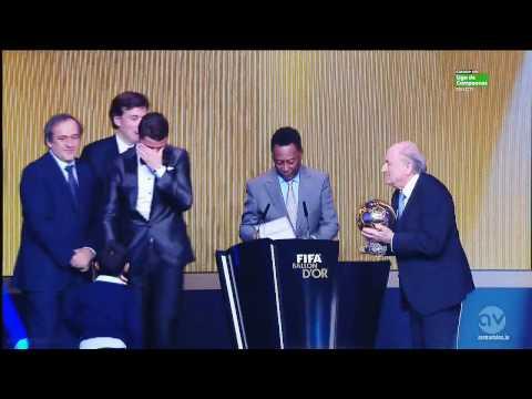 Cristiano Ronaldo Ballon d'or 2013
