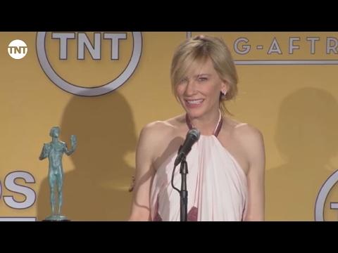 Cate Blanchett | Press Room | SAG Awards