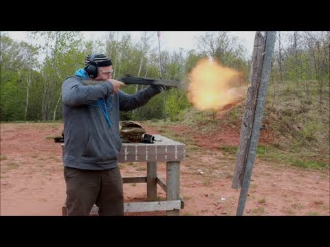 Firing 12.5 Inch Grizzly with Magpul Stocks
