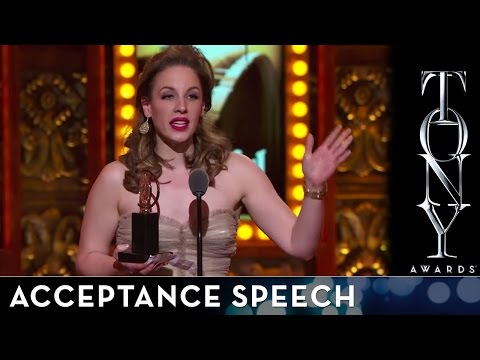 2014 Tony Awards: Acceptance Speech - Jessie Mueller
