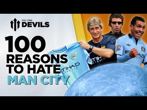 100 Reasons To Hate Manchester City! | Manchester City vs Manchester United | DEVILS