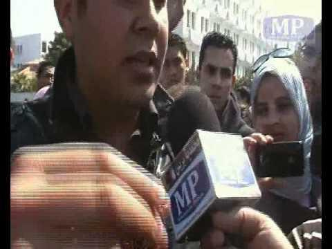 طلبة المحمدية يتحدثون عن فاجعة سقوط زميلين لهم