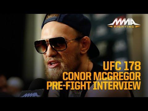 UFC 178: Conor McGregor Says He's in 'Everyone's Head'