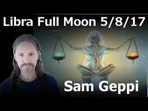 Libra Full Moon - May 8, 2017
