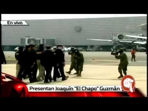Presentan al Chapo Guzman y  CAPTURAN DETIENEN al Chapo Guzman