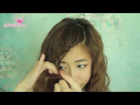 [bubzbeauty] Hướng dẫn làm tóc xoăn kiểu Hàn Quốc giống Park Min Hye (K-Pop Princess Hairstyle)