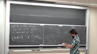 Chris Schommer-Pries: Dualizability in Low Dimensional Higher Category Theory (Part 4)