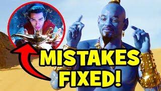 12 Disney Mistakes FIXED In ALADDIN (2019)