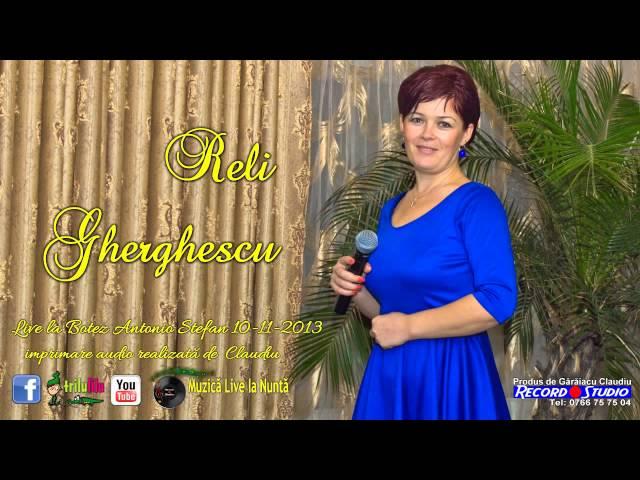 Reli Gherghescu - Las in urma ce am iubit LIVE Imprimare Audio Claudiu Record Studio