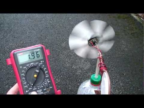 How to: Pico wind turbine generator tutorial.