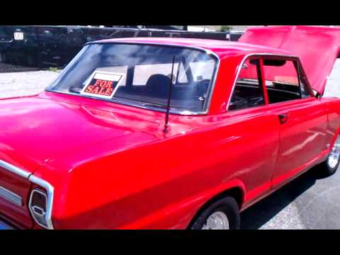 1964 Chevy Nova 2 Door Automatic 6 Cylinder Youtube