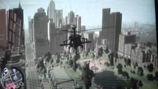 GTA IV Como Pegar Helicóptero Sem Codigo Xbox 360