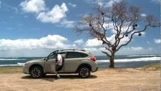 Driving Sports TV - 2013 Subaru XV Crosstrek Tropical Test and Review videos