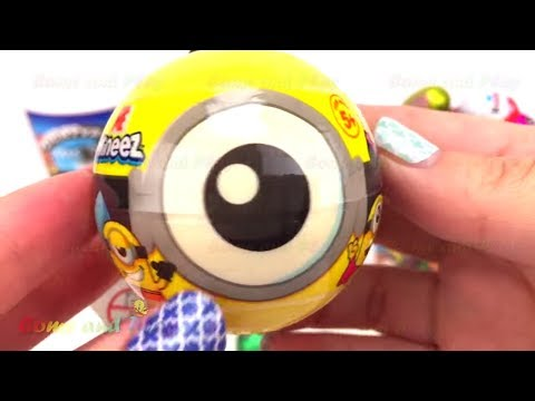 MM Chocolate Candy Surprise Toys Kinder Disney Minions TMNT Frozen Learn Colors Play Doh Fun Kids