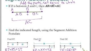 Homework 1-2 Segments And Rays Answers To 4 - Essay for you