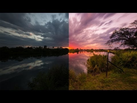 Adobe Lightroom 4 - Editing Sunset / Sunrise Photos!
