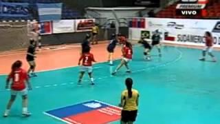 Argentina golea a Chile en el Sudamericano de Cadetas: Video | Mundo Handball
