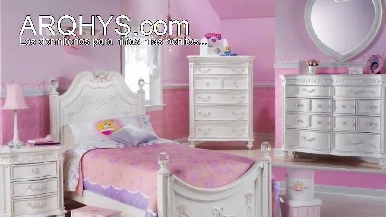 Los dormitorios para ni as mas bonitos del mundo youtube for Recamaras para bebes ninas