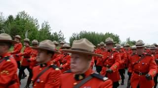 Moncton RCMP Funeral Procession Part 3 Of 3