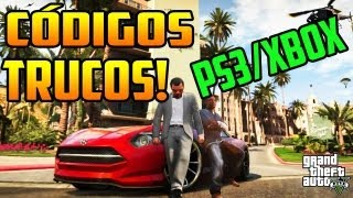 GTA 5 Todos Los Códigos De Trucos Hasta Ahora (PS3/XBOX