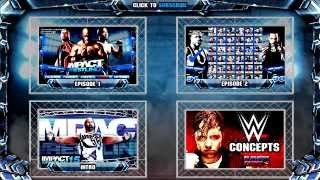 IMPACT Wrestling 2015 Gameplay : PS4, XB1 GM MODE TNA