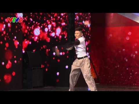 Vietnam's Got Talent 2014 - THÁNH NHẢY QUAY TAY - TẬP 04 - Nguyễn Minh Cường