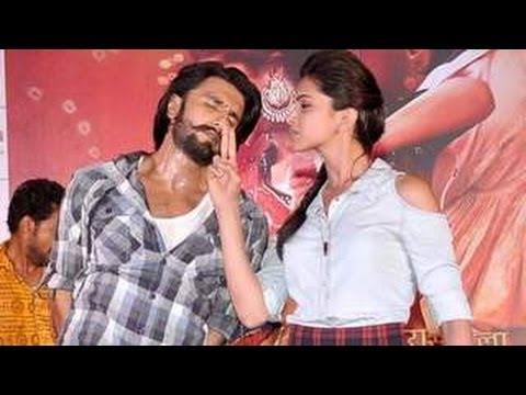 Ranveer Singh & Deepika Padukone's STEAMY Ram Leela DANCE !