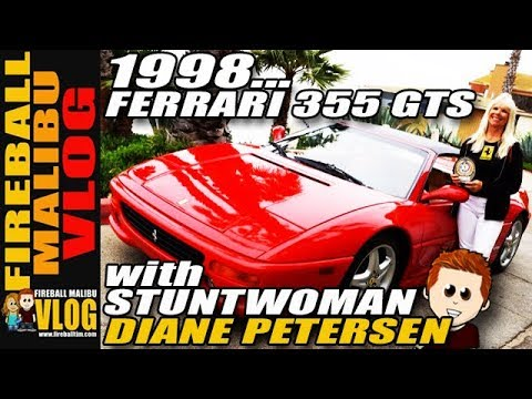 FIREBALL TIM 5Minute Drive Ep30 with Hollywood Stuntwoman DIANE PETERS