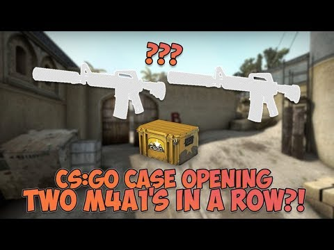 CS:GO | Two M4A1s in a Row?! | Case Opening