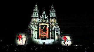 Spectacular 3D Projection Mapping Cathedral of Santiago