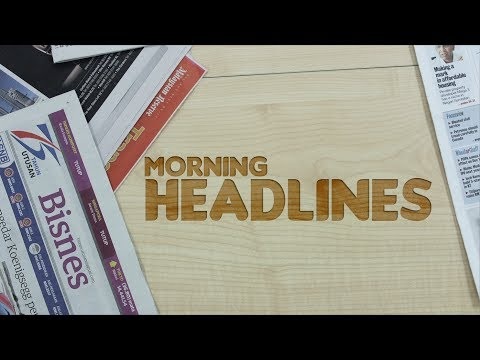 BFM Morning Headlines 21 October 2013