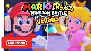 Mario + Rabbids® Kingdom Battle - Versus Mode Trailer - Nintendo Switch